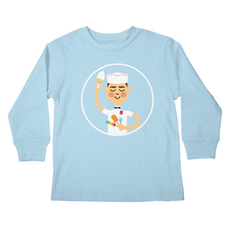 Taste of Summer Kids Longsleeve T-Shirt by Mouki K. Butt: Artist Shop