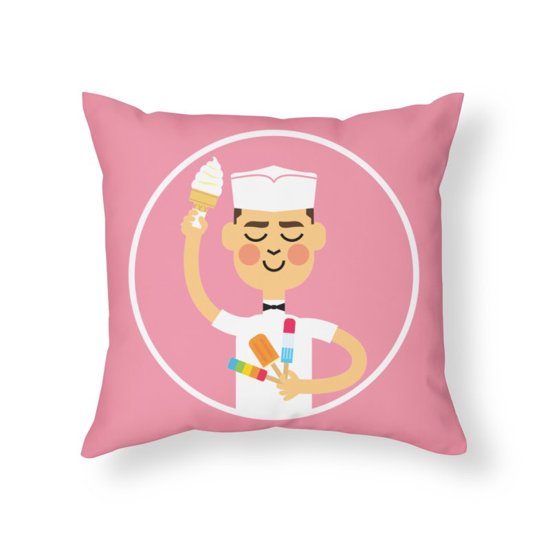 Taste of Summer Home Throw Pillow by Mouki K. Butt: Artist Shop