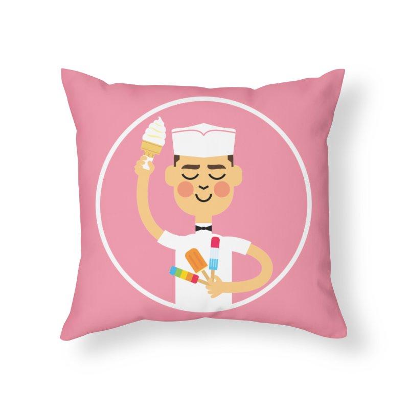 Taste of Summer Home Throw Pillow by Mouki K. Butt: Artist Shop