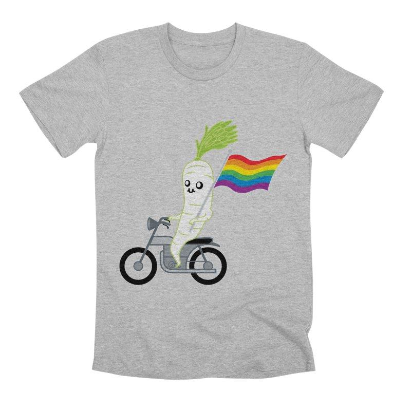 Daikon Bike II Men's Premium T-Shirt by Mouki K. Butt: Artist Shop