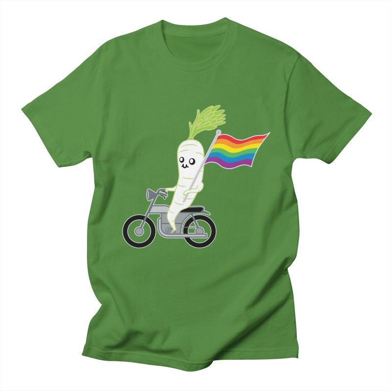 Daikon Bike II Women's Regular Unisex T-Shirt by Mouki K. Butt: Artist Shop