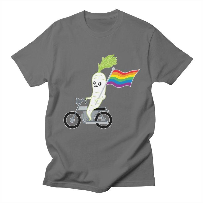 Daikon Bike II Men's T-Shirt by Mouki K. Butt: Artist Shop