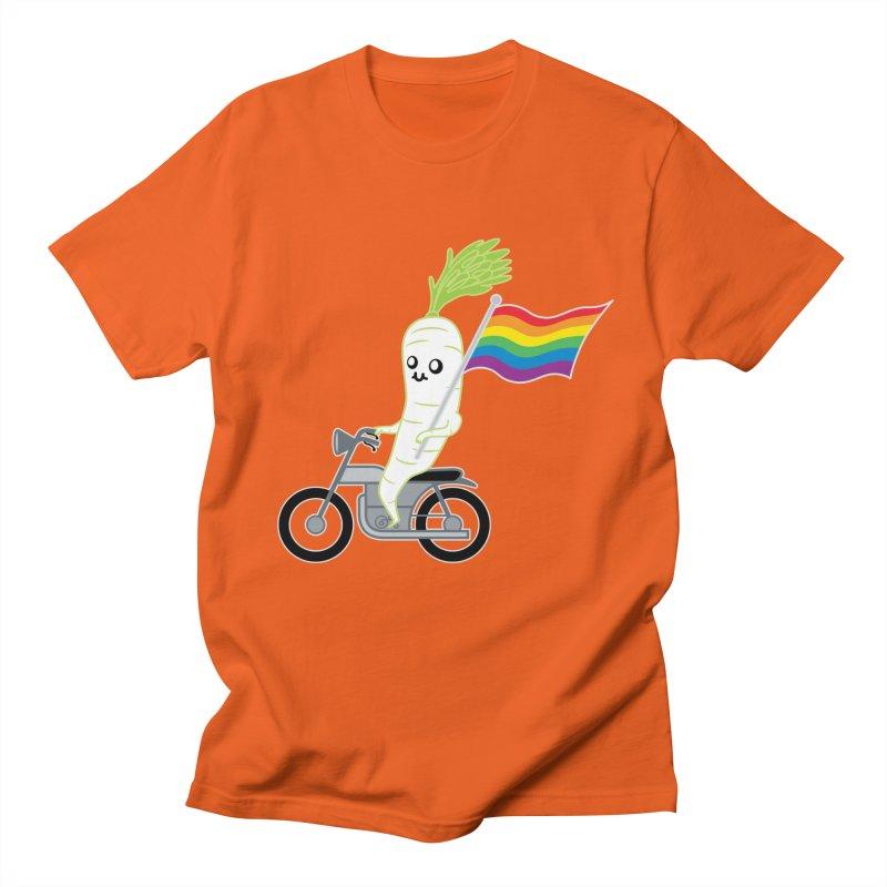 Daikon Bike II Men's Regular T-Shirt by Mouki K. Butt: Artist Shop