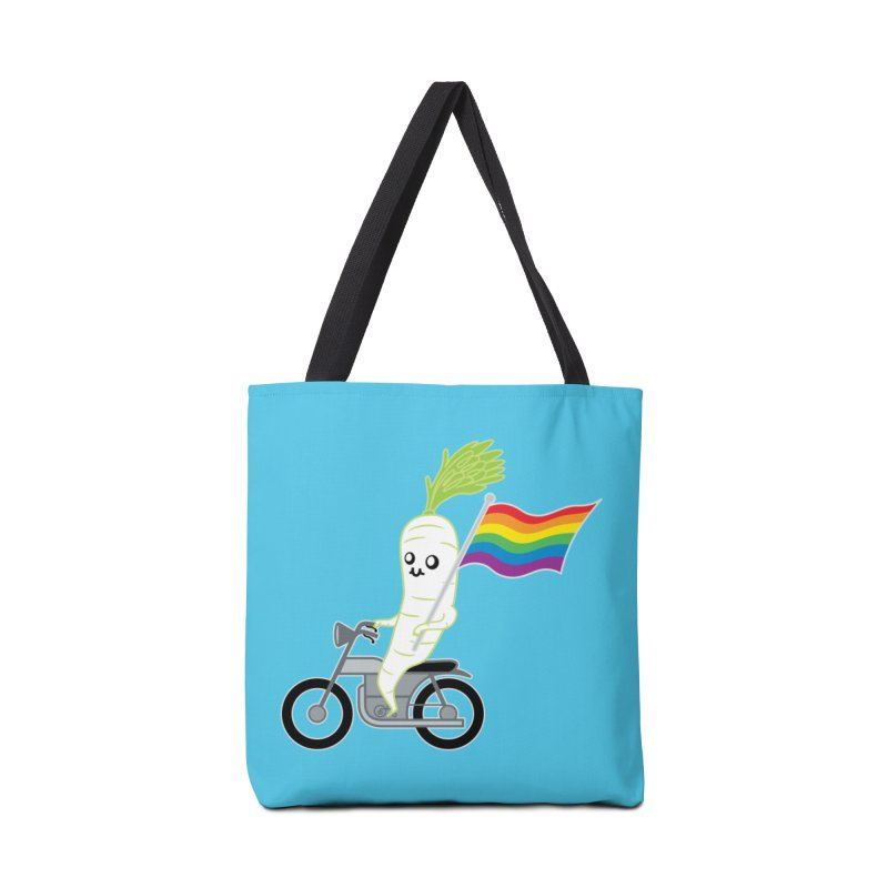Daikon Bike II Accessories Bag by Mouki K. Butt: Artist Shop