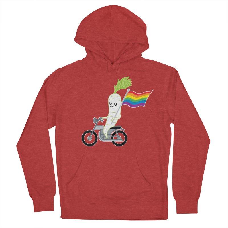 Daikon Bike Women's Pullover Hoody by Mouki K. Butt: Artist Shop
