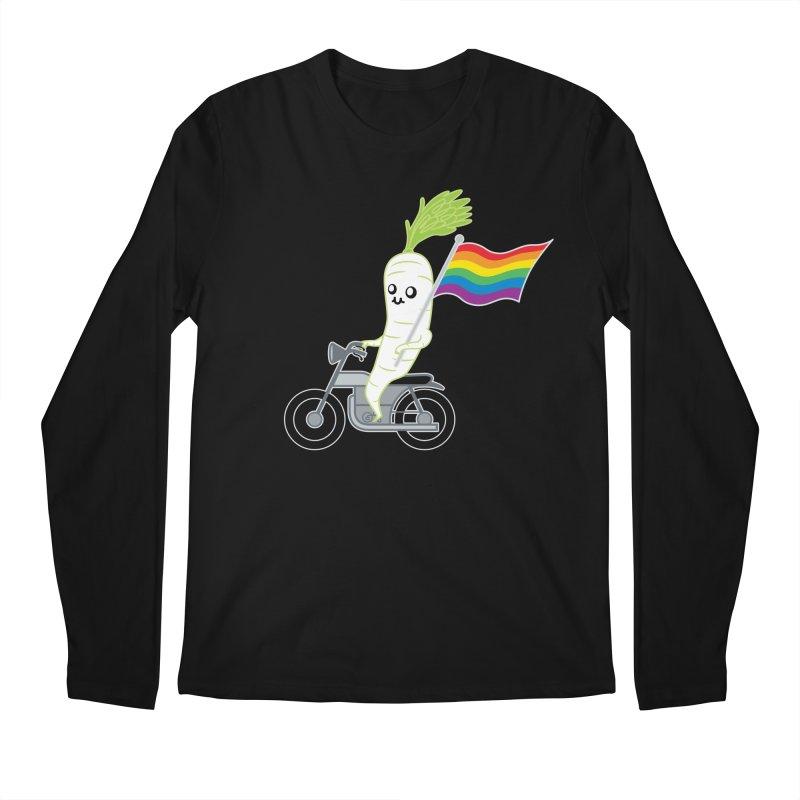 Daikon Bike Men's Regular Longsleeve T-Shirt by Mouki K. Butt: Artist Shop