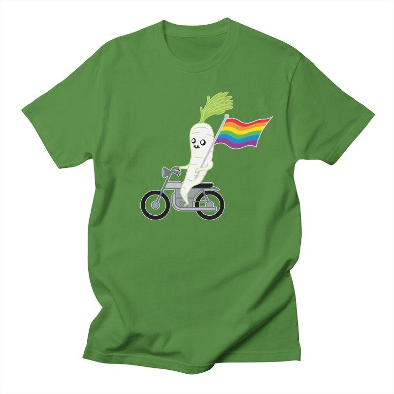 Daikon Bike Men's Regular T-Shirt by Mouki K. Butt: Artist Shop