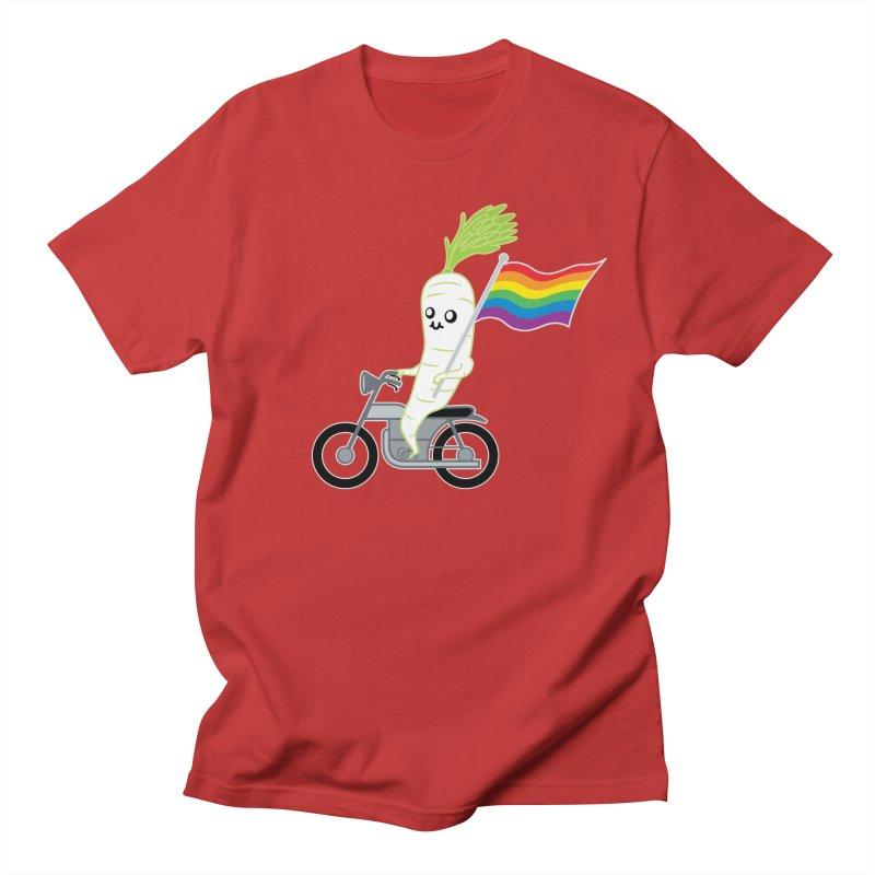 Daikon Bike Women's Unisex T-Shirt by Mouki K. Butt: Artist Shop