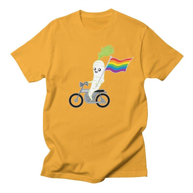 Daikon Bike Women's Regular Unisex T-Shirt by Mouki K. Butt: Artist Shop