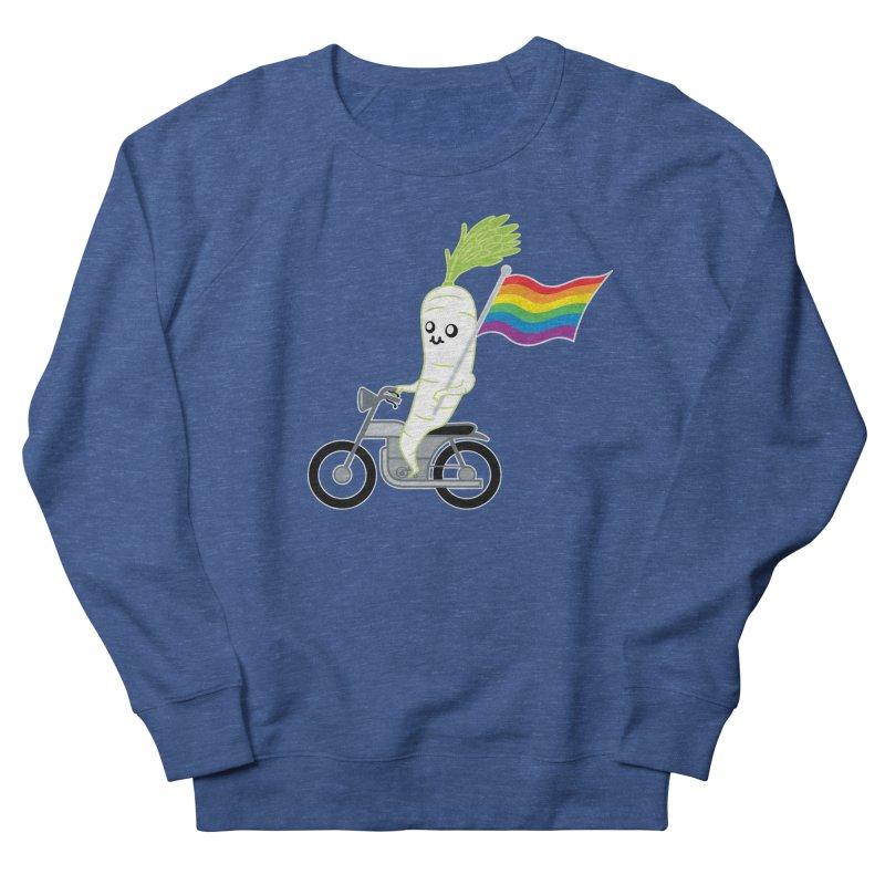 Daikon Bike Men's Sweatshirt by Mouki K. Butt: Artist Shop