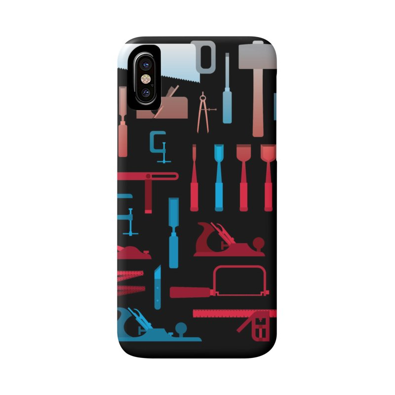 Woodworking Tools I Accessories Phone Case by Mouki K. Butt: Artist Shop