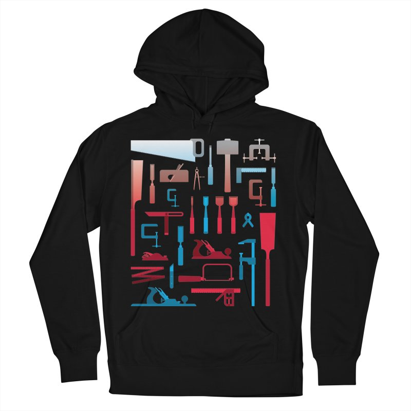 Woodworking Tools I Men's Pullover Hoody by Mouki K. Butt: Artist Shop
