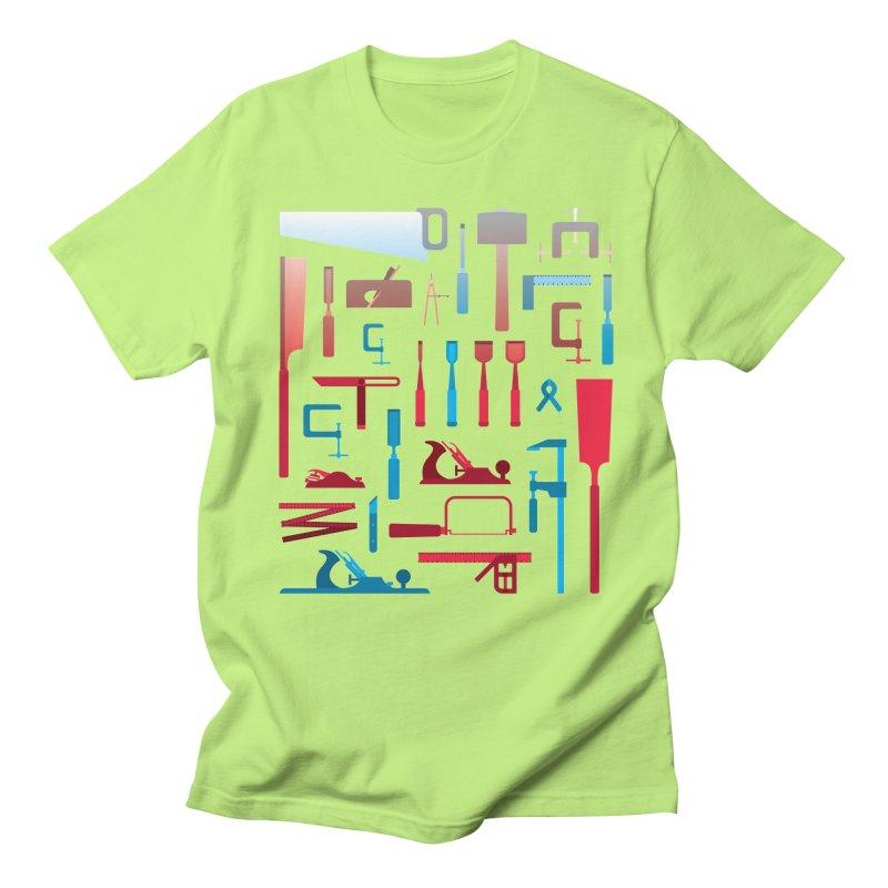 Woodworking Tools I Men's T-Shirt by Mouki K. Butt: Artist Shop