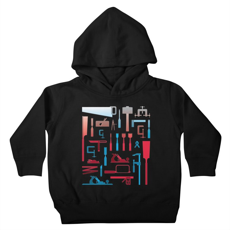 Woodworking Tools I Kids Toddler Pullover Hoody by Mouki K. Butt: Artist Shop