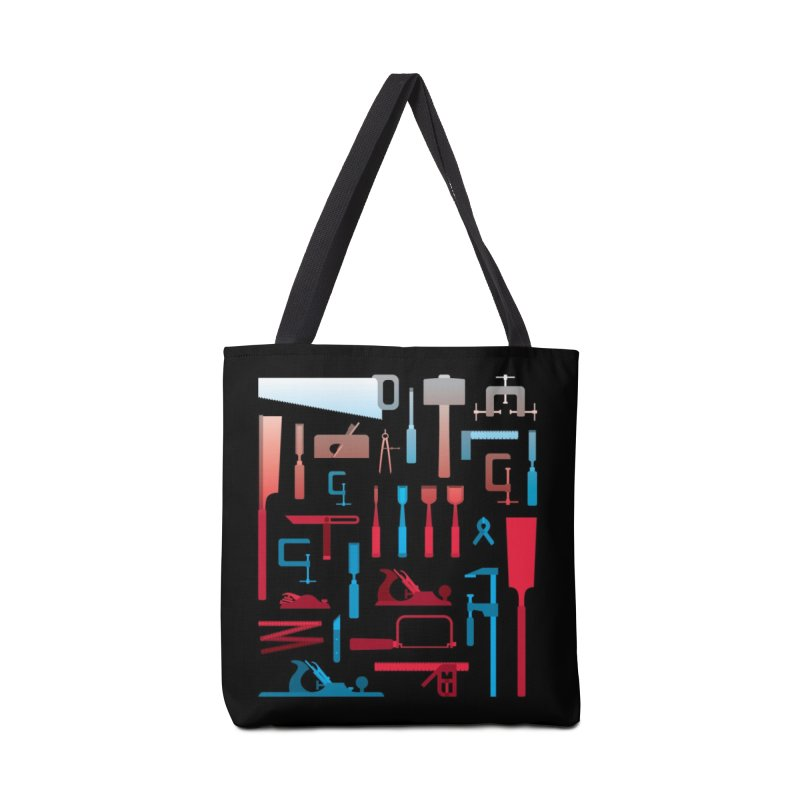 Woodworking Tools I Accessories Bag by Mouki K. Butt: Artist Shop