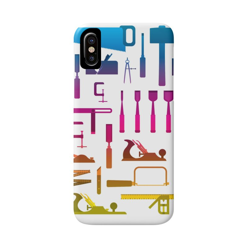 Woodworking Tools II Accessories Phone Case by Mouki K. Butt: Artist Shop