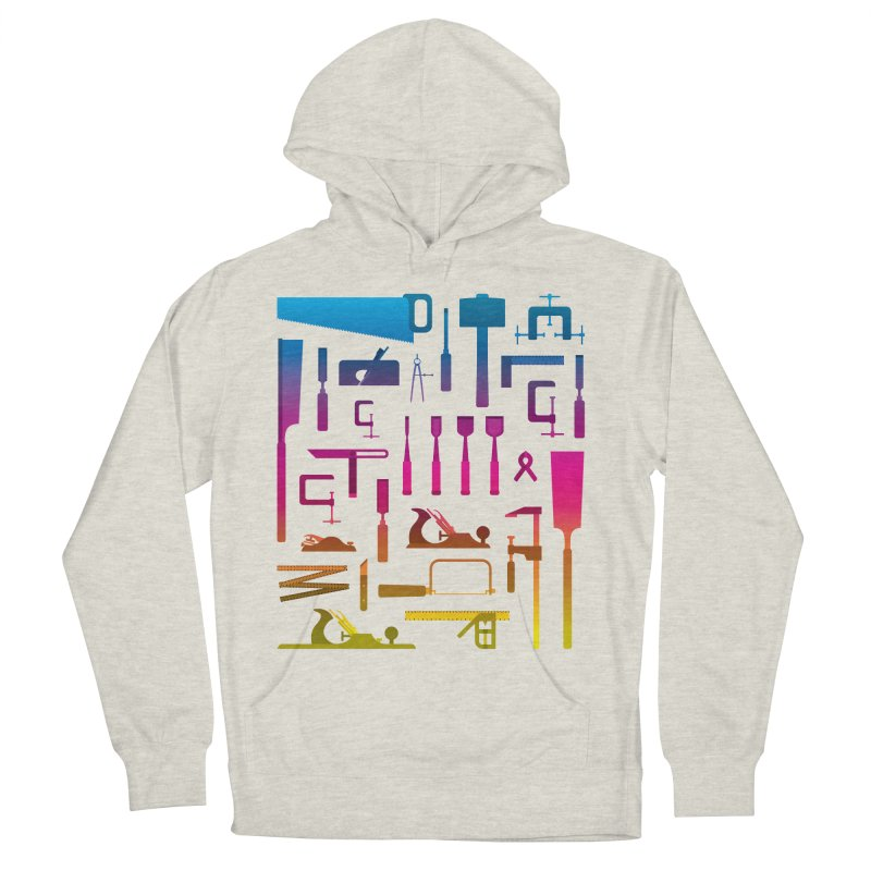 Woodworking Tools II Men's Pullover Hoody by Mouki K. Butt: Artist Shop