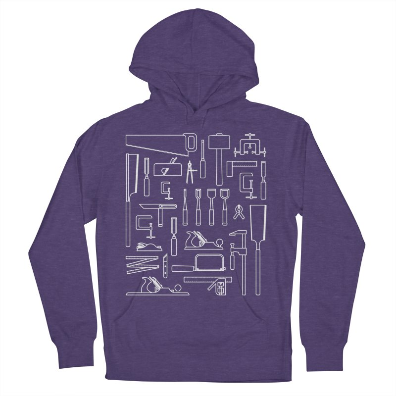 Woodworking Tools III Men's Pullover Hoody by Mouki K. Butt: Artist Shop