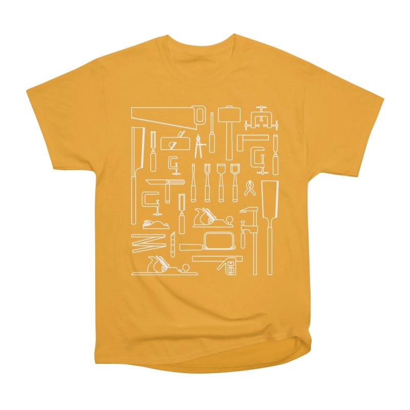 Woodworking Tools III Men's Classic T-Shirt by Mouki K. Butt: Artist Shop