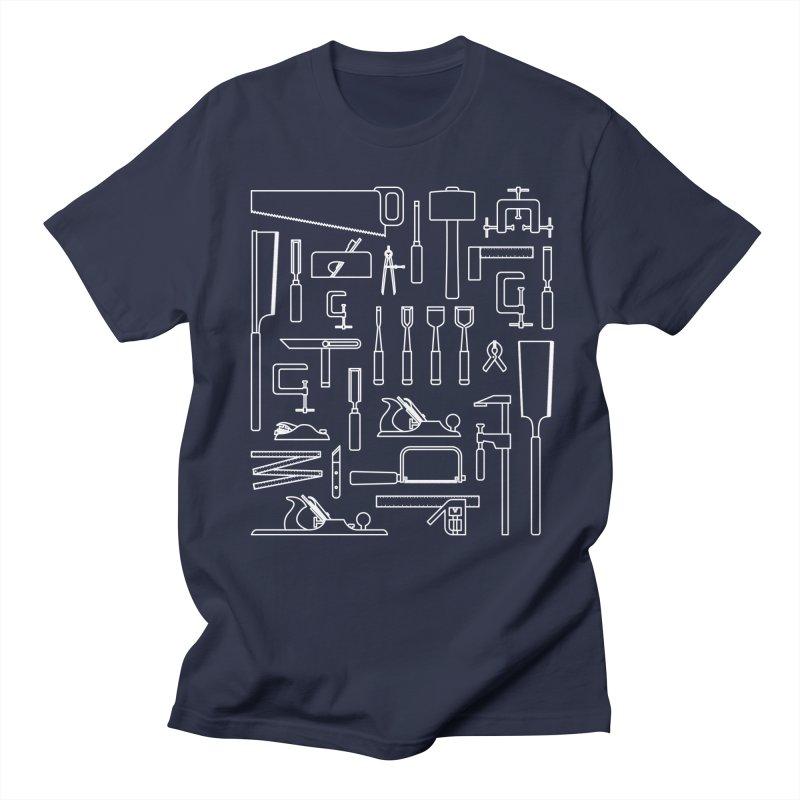 Woodworking Tools III Men's Regular T-Shirt by Mouki K. Butt: Artist Shop