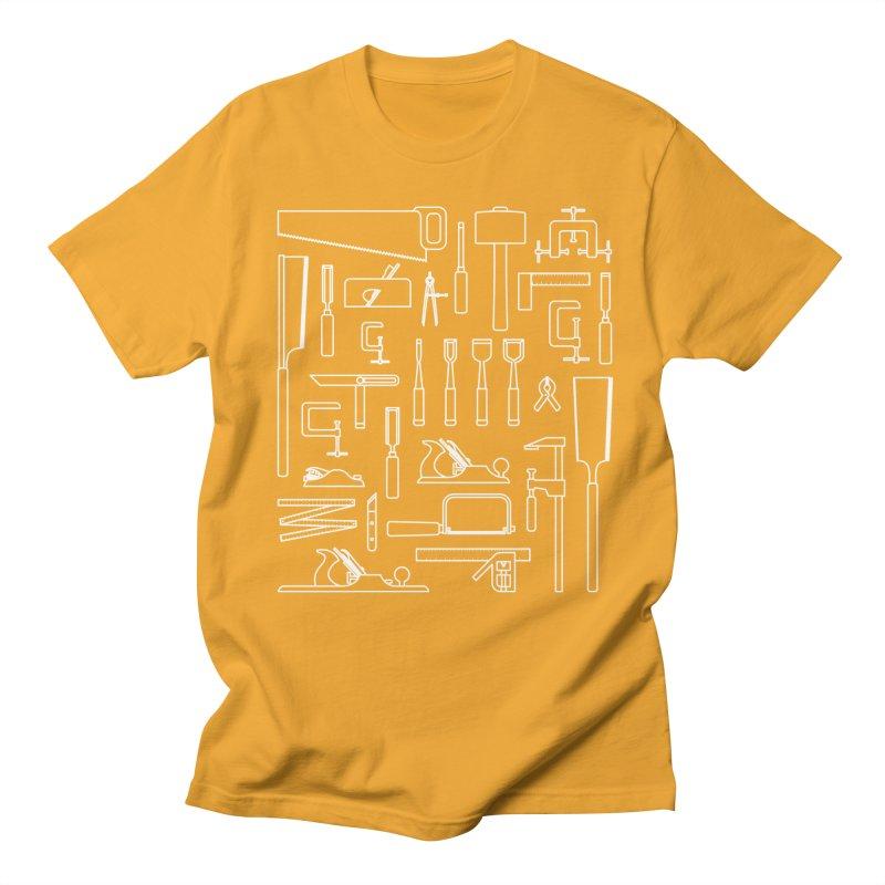 Woodworking Tools III Women's Unisex T-Shirt by Mouki K. Butt: Artist Shop