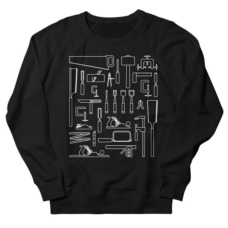 Woodworking Tools III Men's French Terry Sweatshirt by Mouki K. Butt: Artist Shop