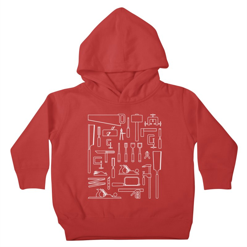 Woodworking Tools III Kids Toddler Pullover Hoody by Mouki K. Butt: Artist Shop