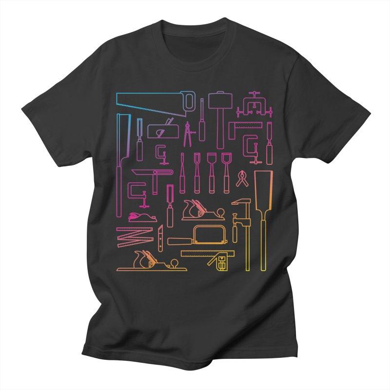 Woodworker's Toolkit II Men's T-Shirt by Mouki K. Butt: Artist Shop
