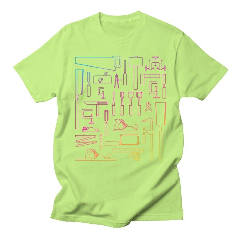 Woodworking Tools IV Men's Regular T-Shirt by Mouki K. Butt: Artist Shop