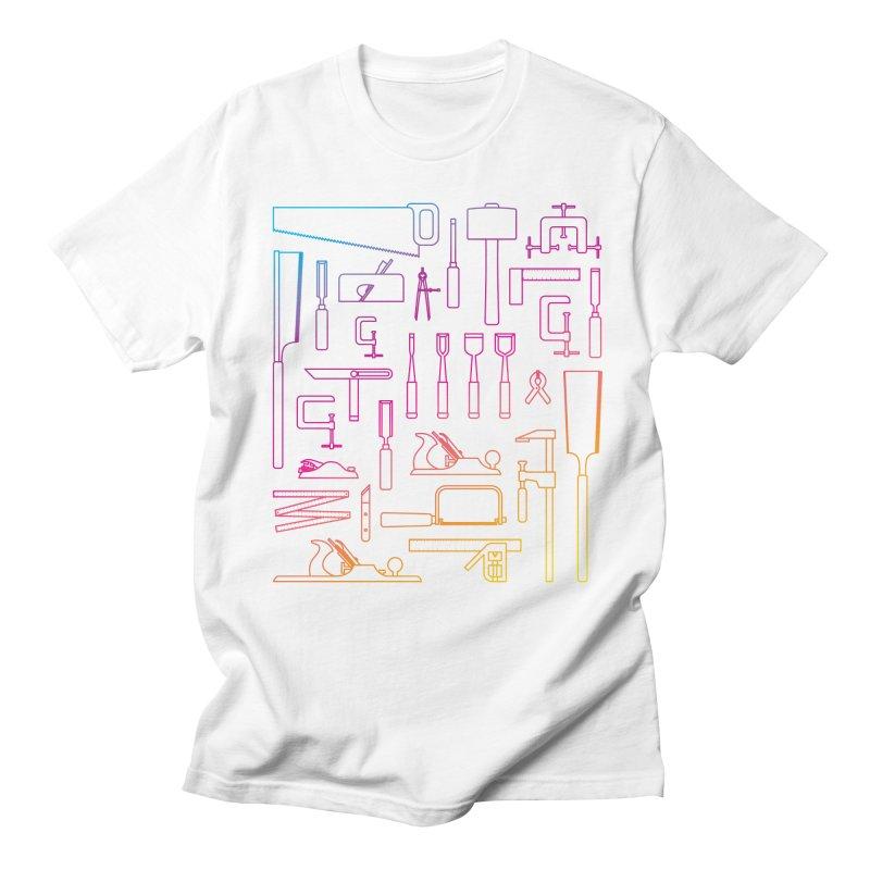 Woodworking Tools IV Women's Unisex T-Shirt by Mouki K. Butt: Artist Shop