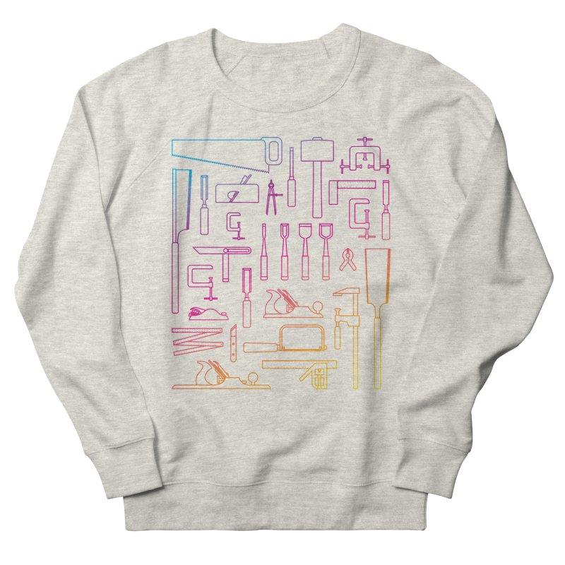Woodworking Tools IV Women's Sweatshirt by Mouki K. Butt: Artist Shop