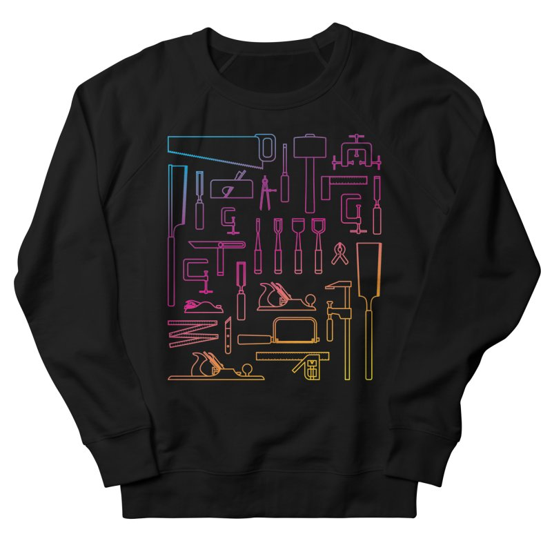 Woodworking Tools IV Men's French Terry Sweatshirt by Mouki K. Butt: Artist Shop