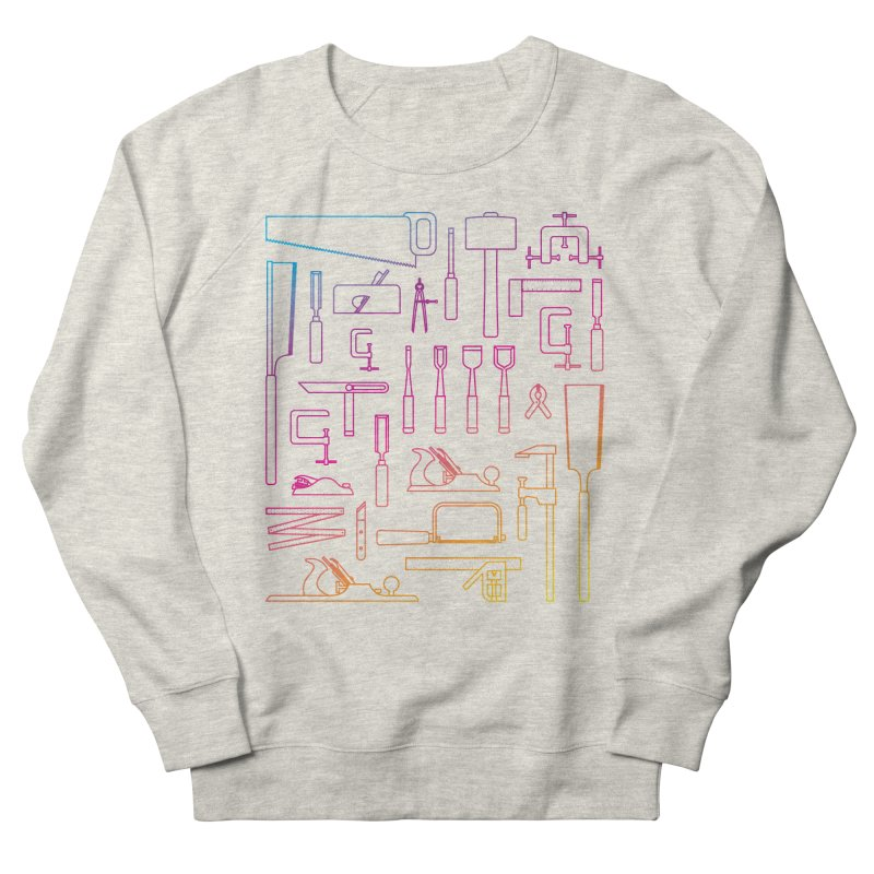 Woodworking Tools IV Men's Sweatshirt by Mouki K. Butt: Artist Shop