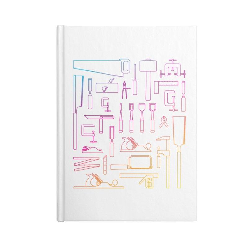 Woodworker's Toolkit II Accessories Blank Journal Notebook by Mouki K. Butt: Artist Shop