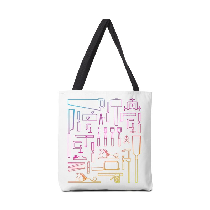 Woodworker's Toolkit II Accessories Tote Bag Bag by Mouki K. Butt: Artist Shop