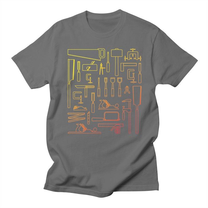 Woodworker's Toolkit Men's T-Shirt by Mouki K. Butt: Artist Shop