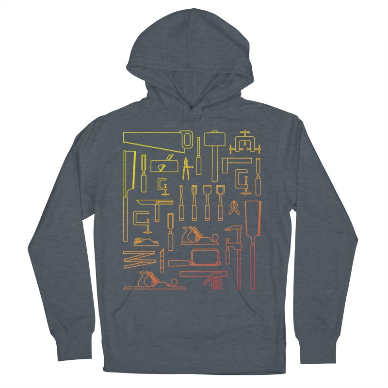 Woodworking Tools V Men's Pullover Hoody by Mouki K. Butt: Artist Shop