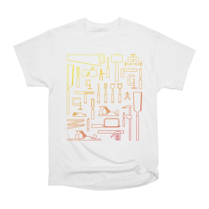 Woodworking Tools V Men's Heavyweight T-Shirt by Mouki K. Butt: Artist Shop