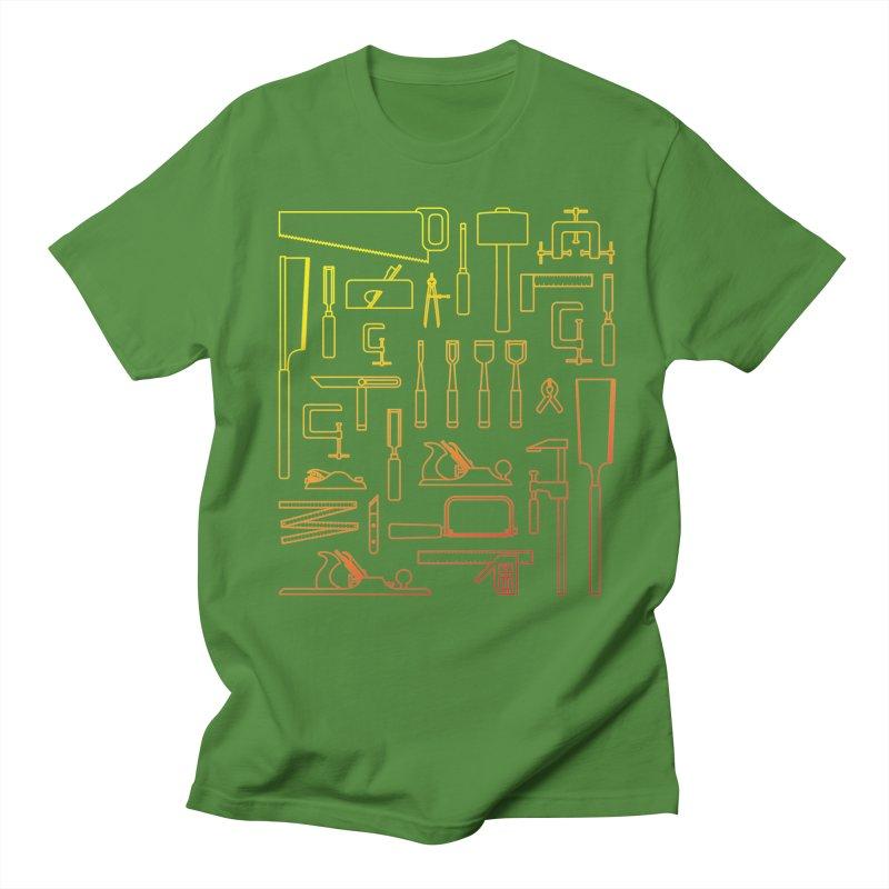Woodworking Tools V Women's Regular Unisex T-Shirt by Mouki K. Butt: Artist Shop
