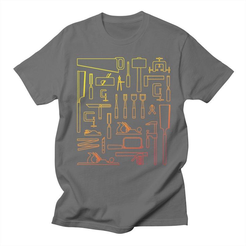 Woodworker's Toolkit Women's Regular Unisex T-Shirt by Mouki K. Butt: Artist Shop
