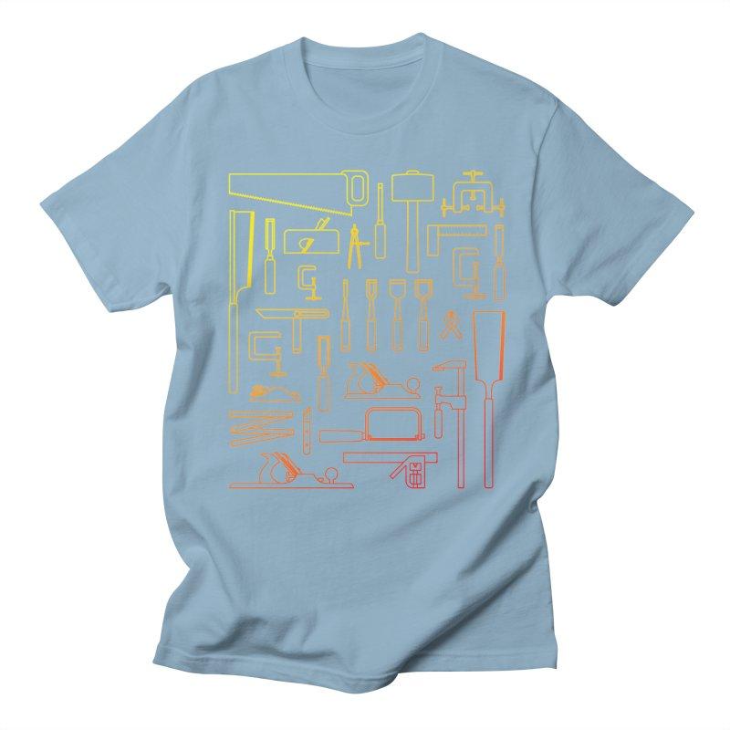 Woodworker's Toolkit Men's Regular T-Shirt by Mouki K. Butt: Artist Shop