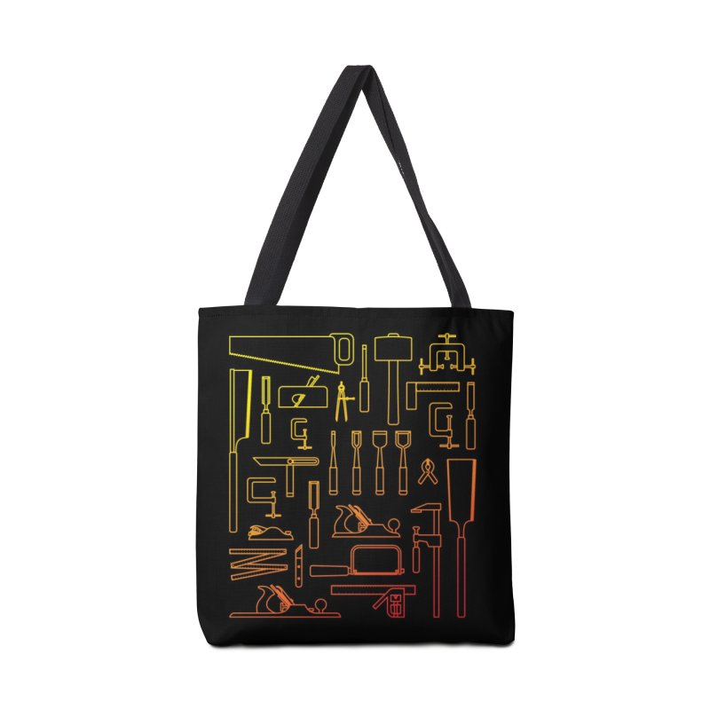 Woodworker's Toolkit Accessories Tote Bag Bag by Mouki K. Butt: Artist Shop