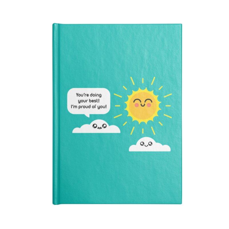 Proud Cloud Accessories Blank Journal Notebook by Mouki K. Butt: Artist Shop
