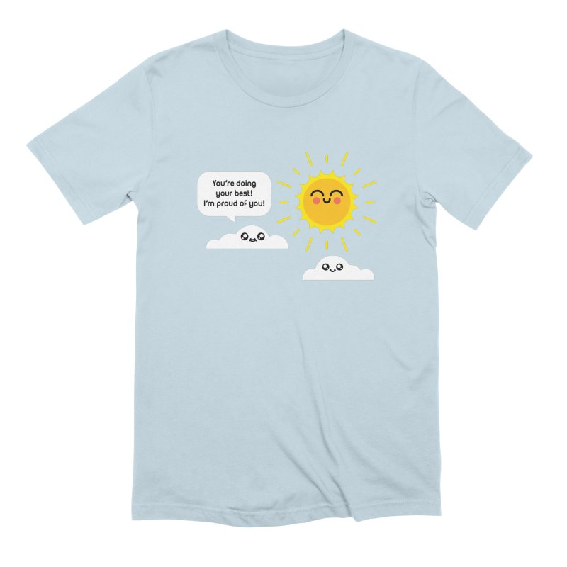 Proud Cloud Men's Extra Soft T-Shirt by Mouki K. Butt: Artist Shop
