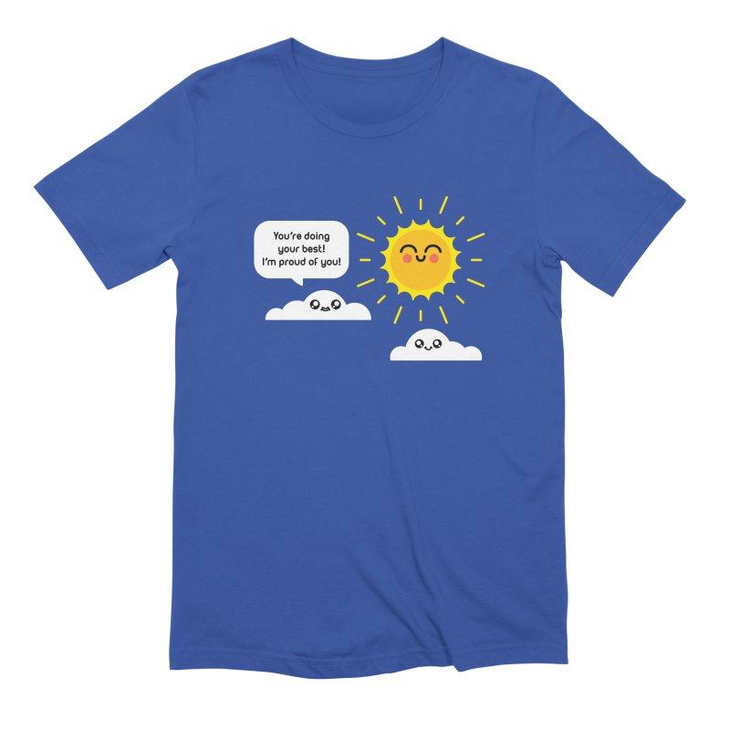 Proud Cloud Men's Extra Soft T-Shirt by Mouki K. Butt: Artist Shop