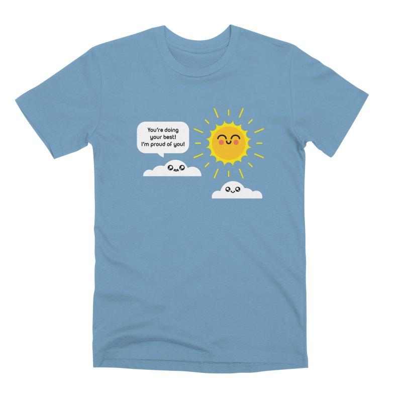 Proud Cloud Men's Premium T-Shirt by Mouki K. Butt: Artist Shop