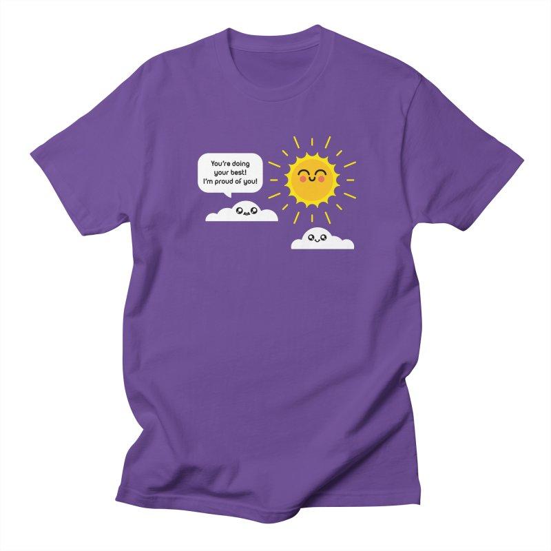 Proud Cloud Women's Regular Unisex T-Shirt by Mouki K. Butt: Artist Shop