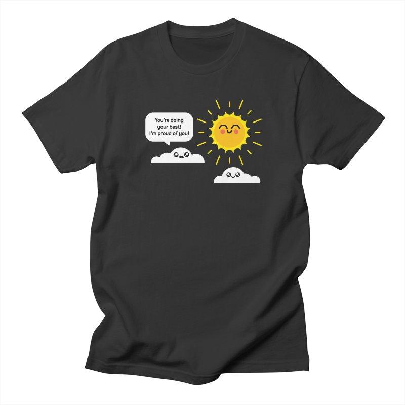 Proud Cloud Men's Regular T-Shirt by Mouki K. Butt: Artist Shop