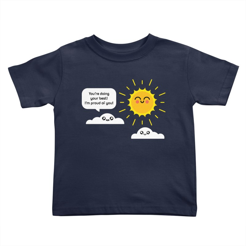 Proud Cloud Kids Toddler T-Shirt by Mouki K. Butt: Artist Shop