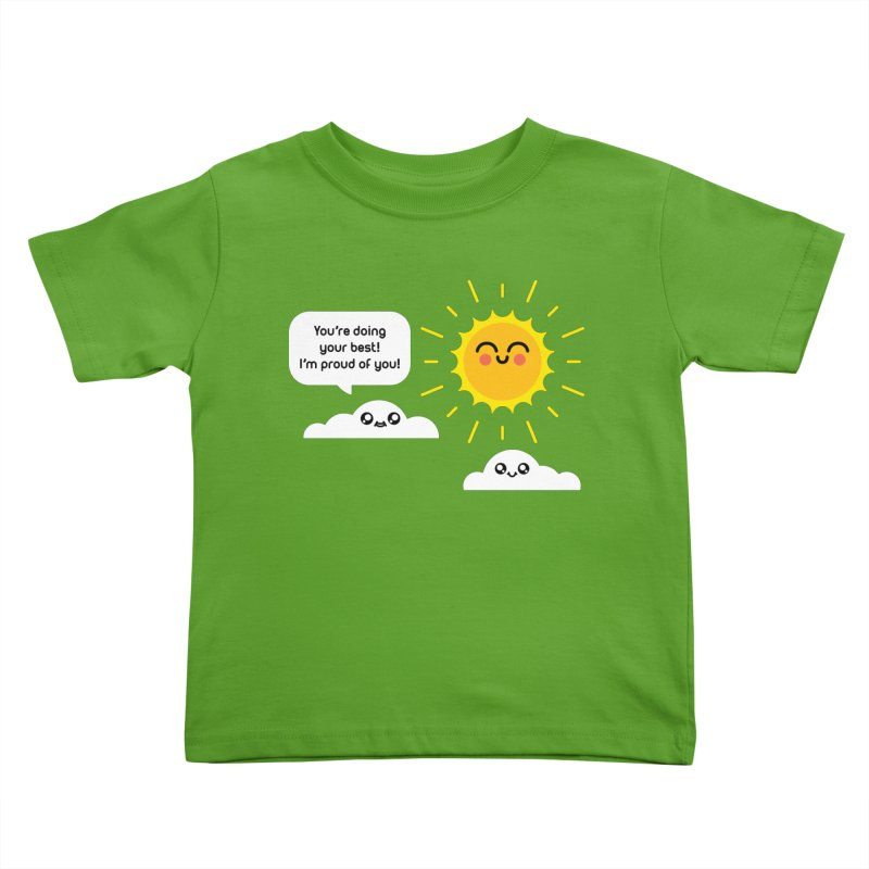 Proud Cloud Kids Toddler T-Shirt by Mouki K. Butt: Artist Shop